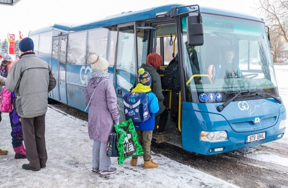 Kagu transpordikeskus: veel jääb segaseks, kas tasuta transpordi raha arvelt on võimalik liine tihendada