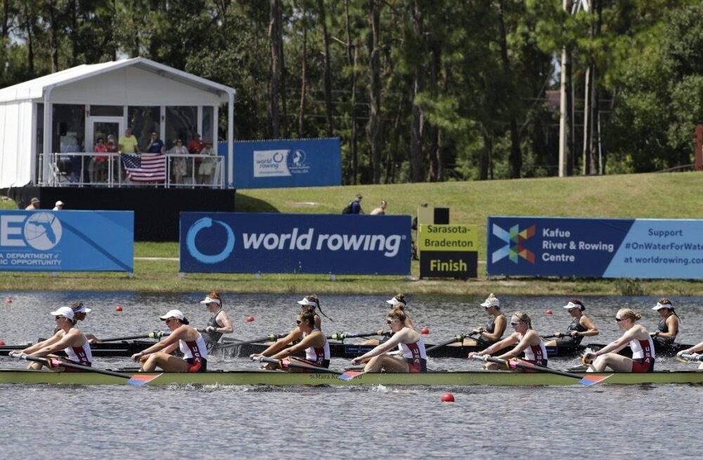 USA ja Uus-Meremaa kaheksapaadid MM-il võistlushoos