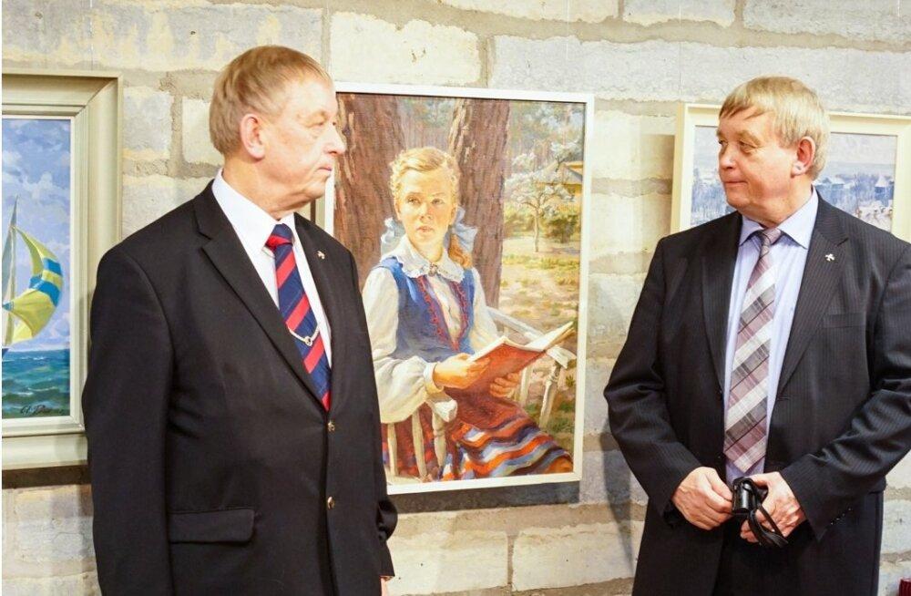 Kunstnik Aleksander Peeki mälestusnäituse avamine