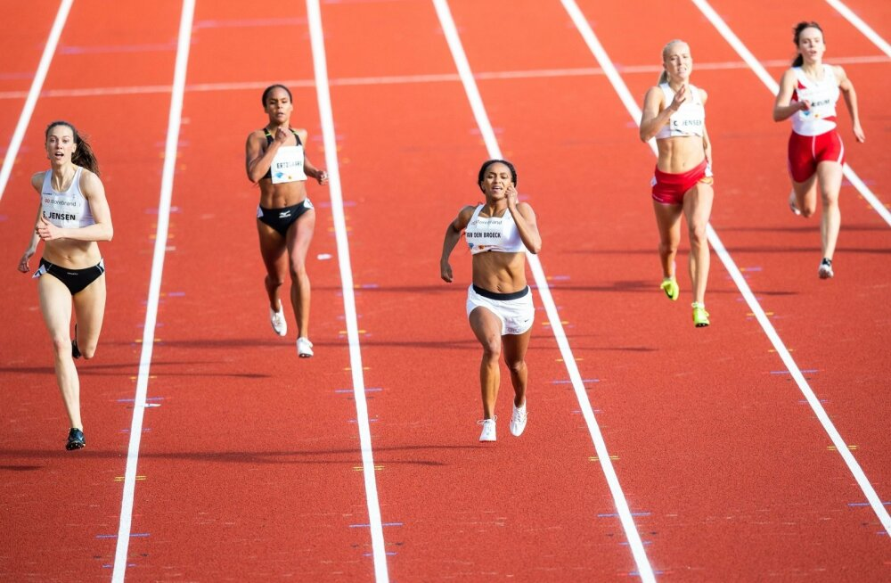400 m jooks.