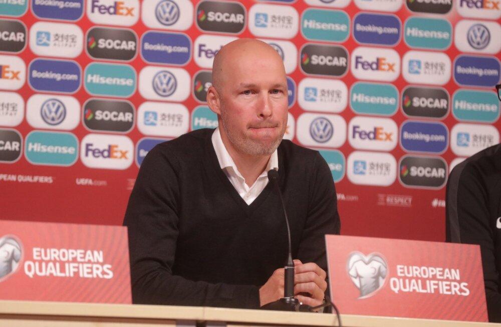 Karel Voolaid enne mängu Hollandiga: me ei lähe mängima viie kaitsjaga