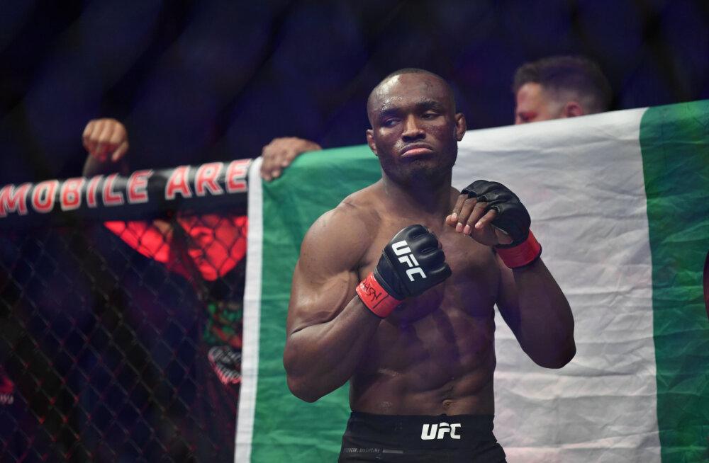 Kamaru Usman kaitses UFC kergkeskkaalu tiitlivööd ja viigistas rekordi