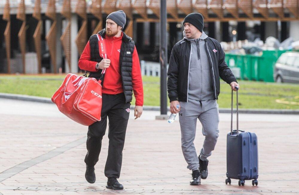 Moskva Spartak saabus Tallinna