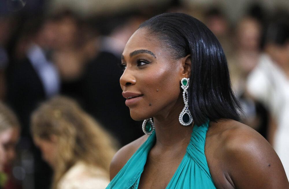 Sünnitama hakkava Serena Williamsi jaoks tehti haiglas terve korrus tühjaks