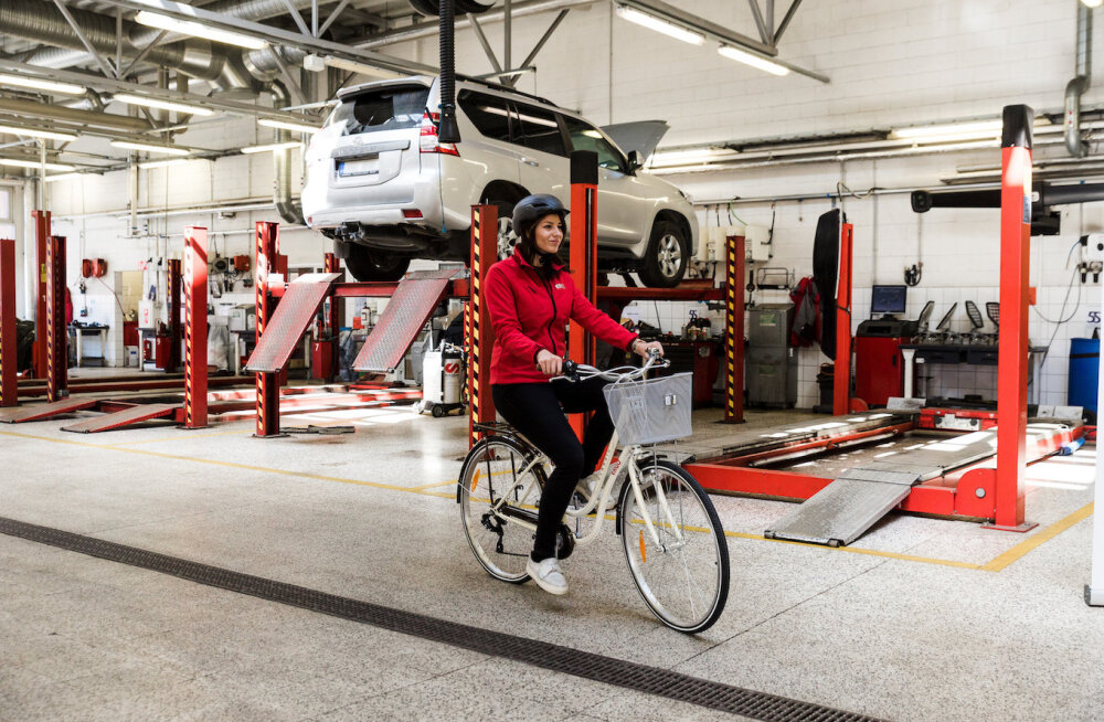 Страховая компания предоставляет велосипед вместо замещающего автомобиля
