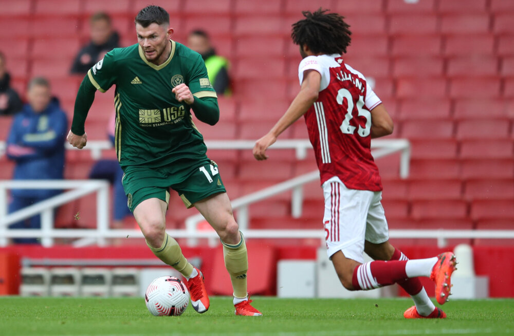 Premier League`i mäng Sheffield United versus Arsenal