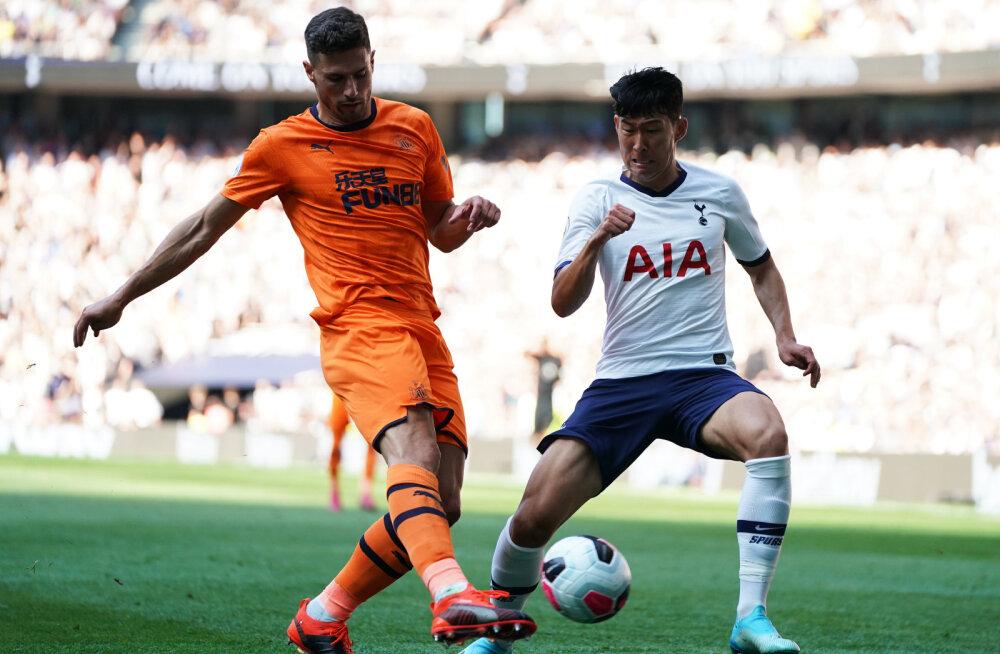 Tottenham sai valusa kaotuse, Manchester City tõusis teiseks