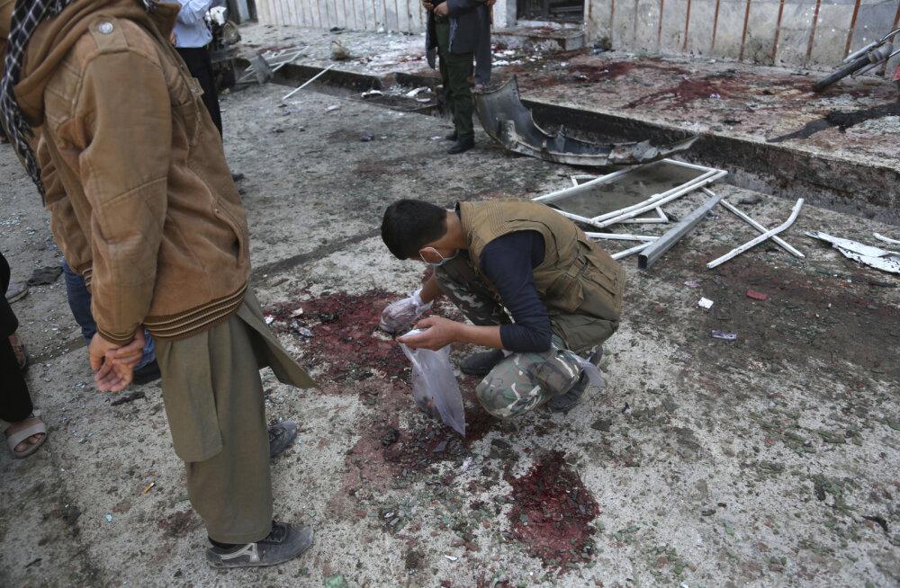 Islamiriik raputas Kabuli, enesetapurünnak nõudis kümnete inimeste elu