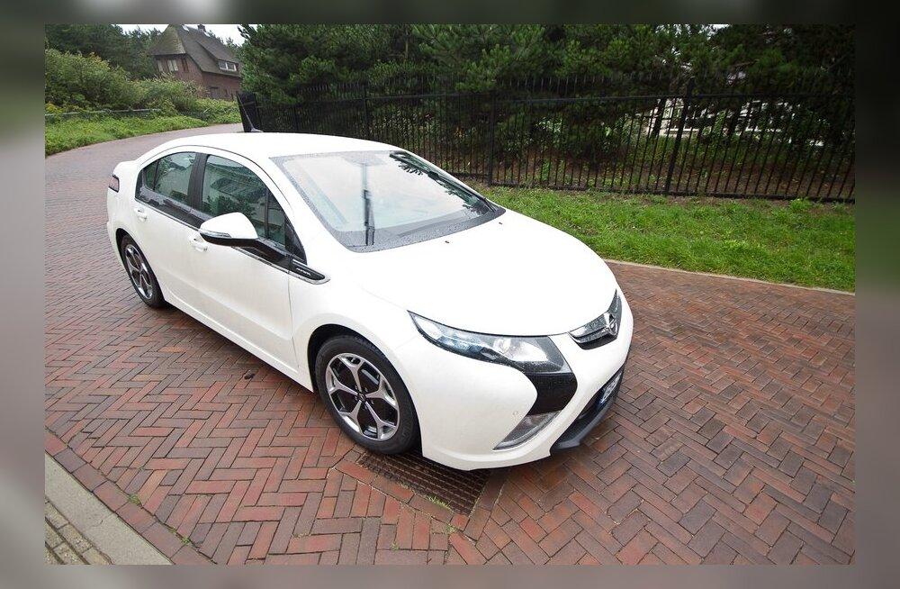Euroopa Aasta Auto 2012 on Opel Ampera
