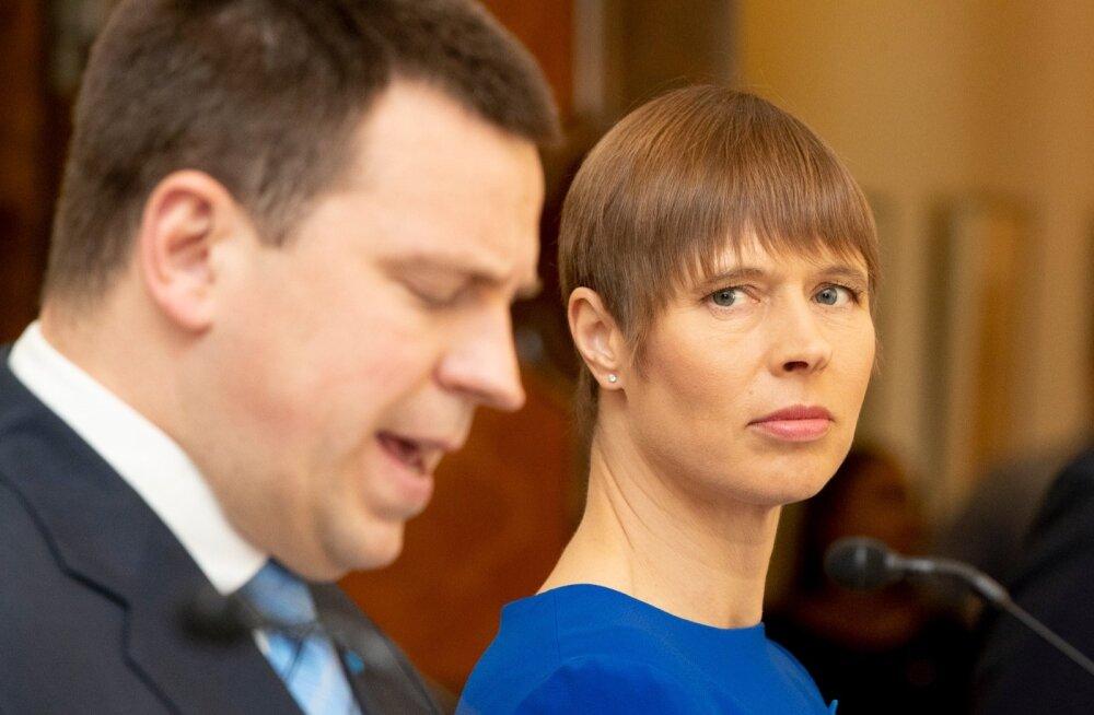 Jüri Ratas ja Kersti Kaljulaid
