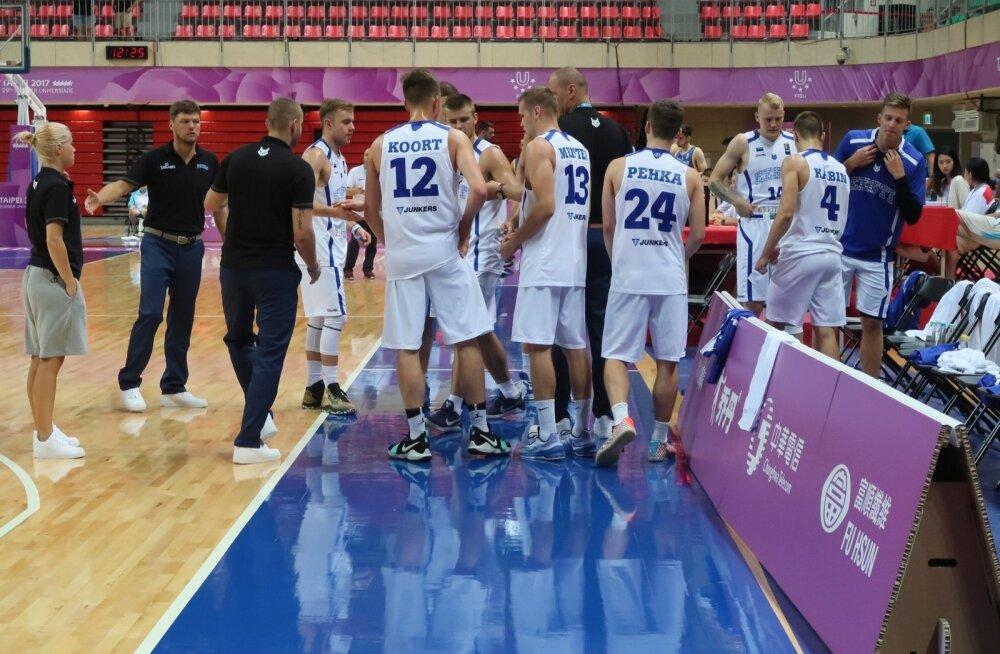 Universiaadi korvpalliturniir Eesti - Rumeenia