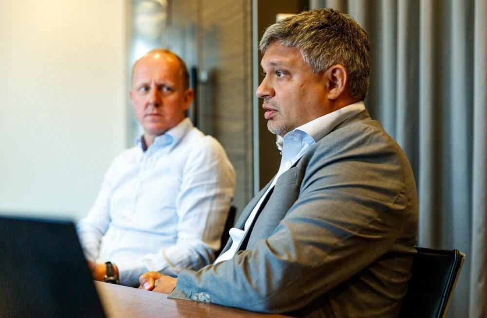 Cobalti advokaadibüroo juhtivpartner Jaanus Mody (paremalt) ja partner Martin Simovart.