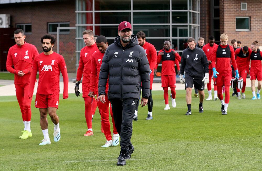Liverpool peab detsembris kahe päeva jooksul kaks mängu erineva koosseisuga