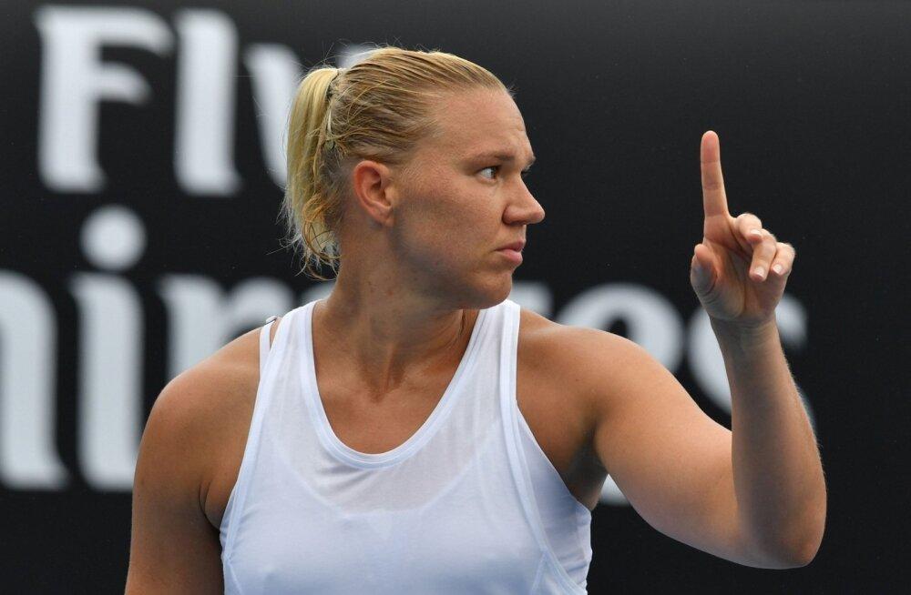 Kaia Kanepi ja Anett Kontaveidi avaringi matšid Australian Openil
