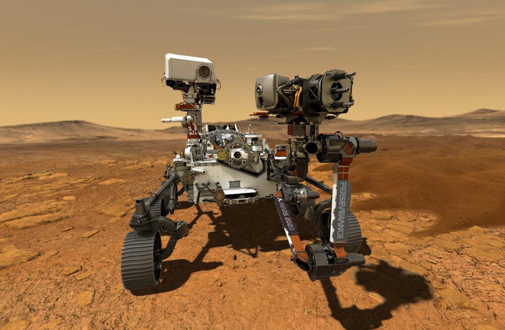 FOTOD | Kulgur Perseverance asus täna teele Marsilt elu otsima