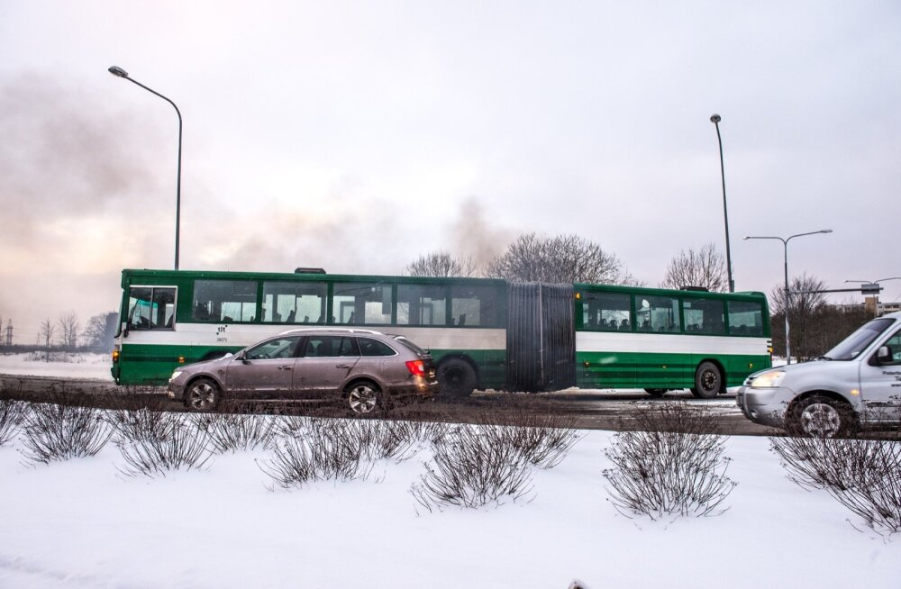 Buss katki Lasnamäe