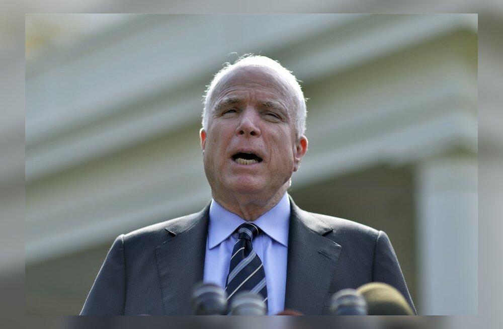 Senaator McCain: Süürias jõu kasutamise tagasilükkamine kongressis oleks katastroofiline