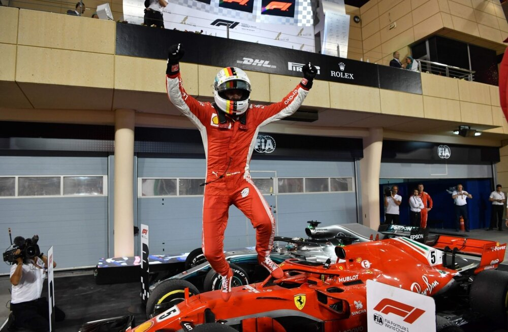 Võidukas Sebastian Vettel
