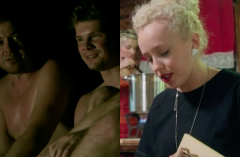 """VAATA enne tele-eetrit: """"Osoon"""" viis Curly Stringsi jõulusauna ja verivorstiteole"""