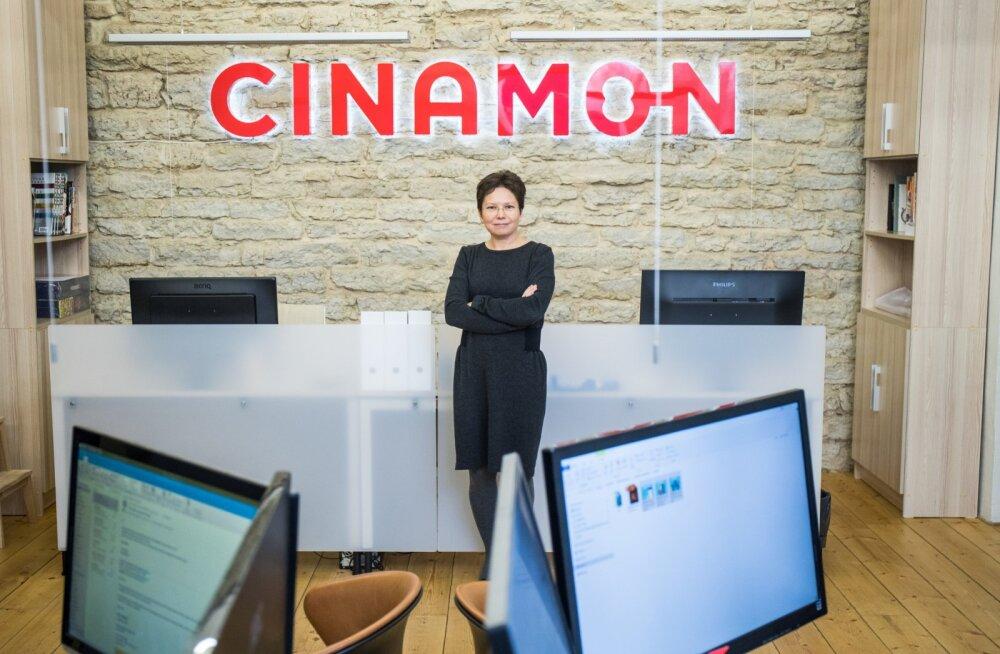 Tatiana Tolstaja on Cinamon Holding OÜ tegevdirektor
