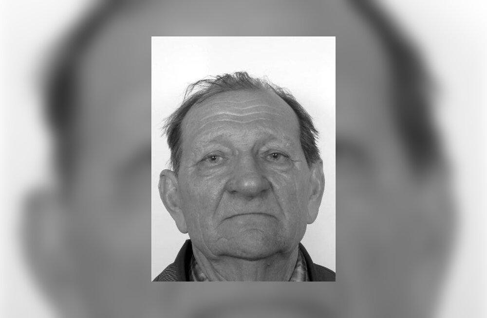 Politsei otsib Harjumaal kadunud 84-aastast Jürit