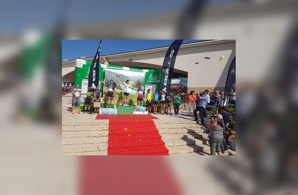 Purunenud ketiga lõpetanud Greete Steinburg sai La Forestiere'i maratonil teise koha