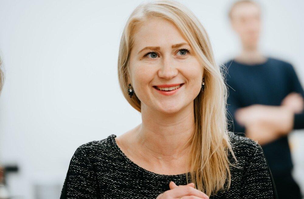 Ekspordirevolutsiooni stipendiaat Maryna Maltseva.