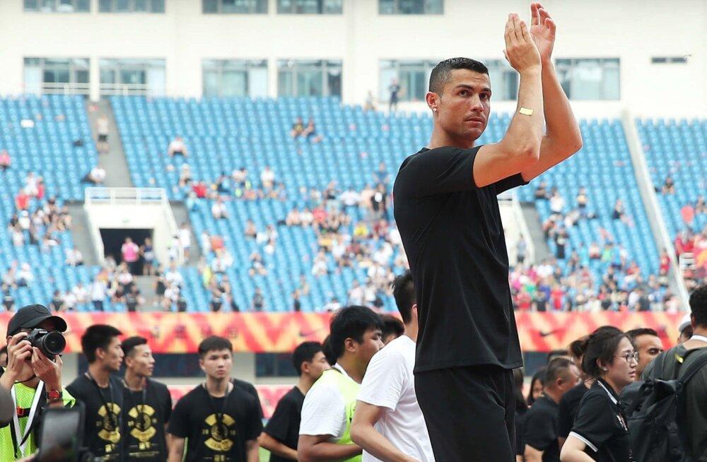 Juventuse mängija avaldas, mis teda Cristiano Ronaldoga koos treenimise juures kõige rohkem imestama paneb