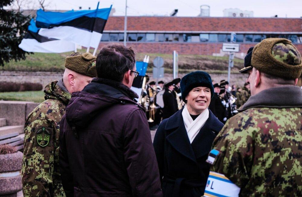 President Kaljulaid Vabadussõja relvarahu aastapäeva paraadil