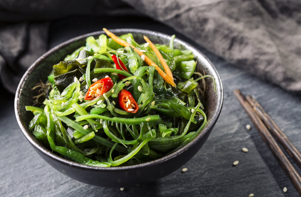 Vetikad toidulaual: kuidas meretaimed toimetavad tervise teenistuses