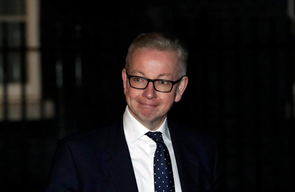 BBC: keskkonnaminister Gove lükkas ettepaneku hakata Brexiti-ministriks tagasi, aga valitsusest ei lahku