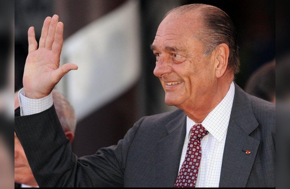 Chirac vabanes miljonite eest korruptsiooni süüst