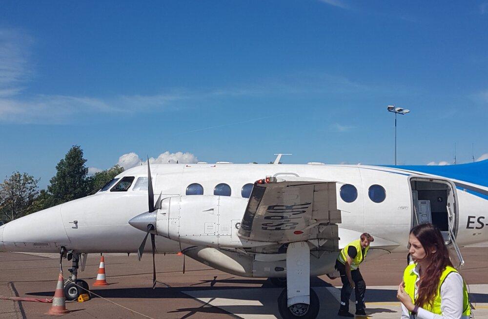 Vappuv ja kõrvulukustav lend Kuressaarde šokeeris reisijat: selle lennufirma tegevuse peaks riik keelustama!