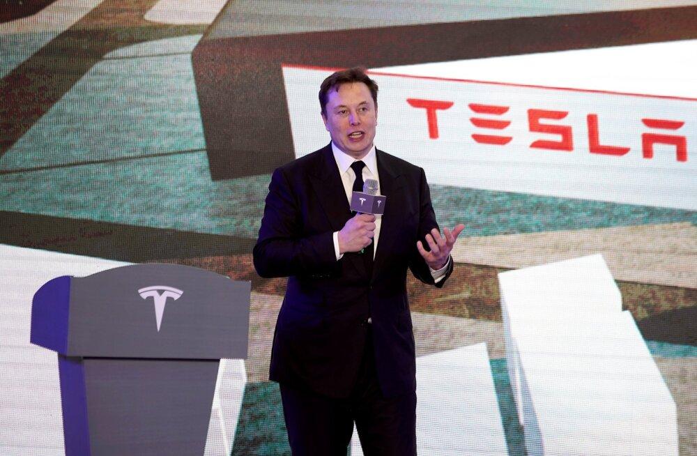 Tesla tegevjuht Elon Musk