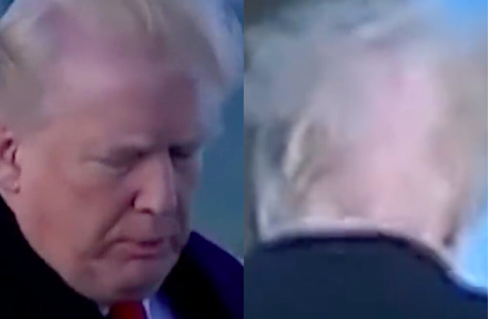 VIDEO | Ootamatu tuulehoog paljastas selle, mis Donald Trumpi peas tegelikult toimub