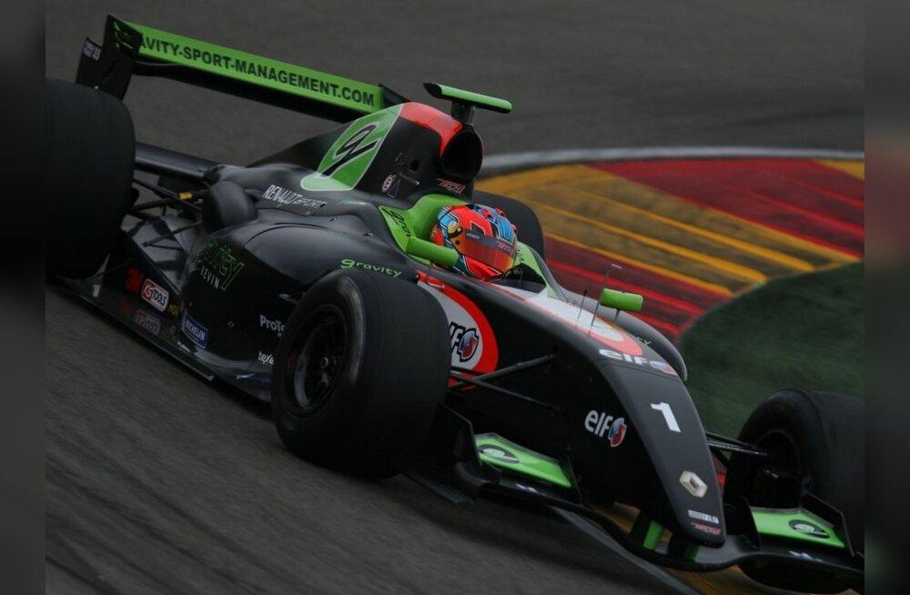 Korjus ja Pentus alustavad Barcelona GP'd teisest kümnest