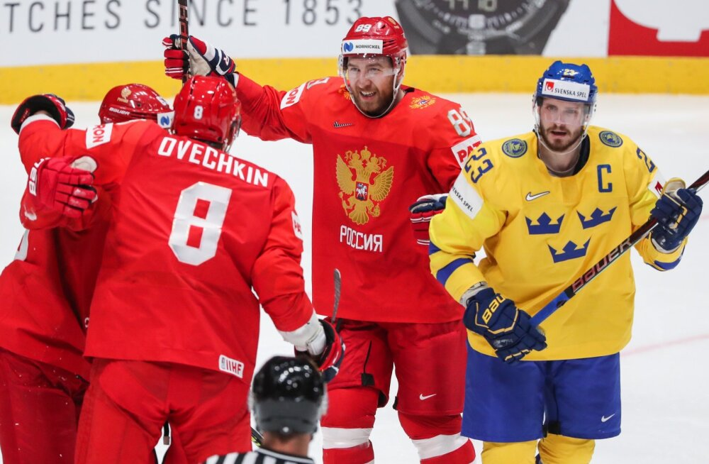 Jäähoki Venemaa vs Rootsi