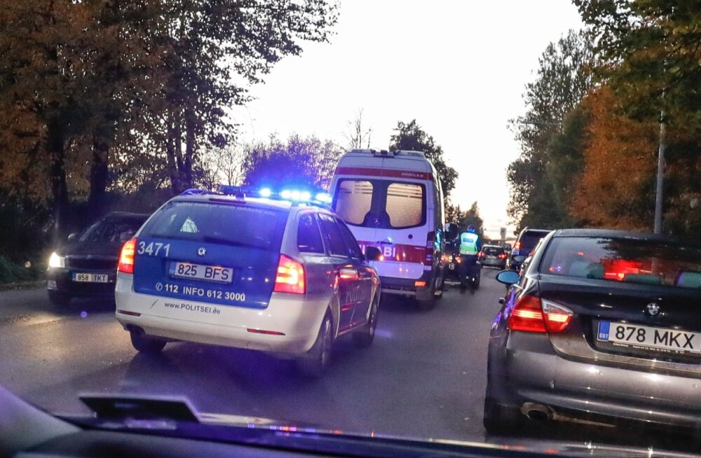 Liiklusõnnetus Rannamõisa teel