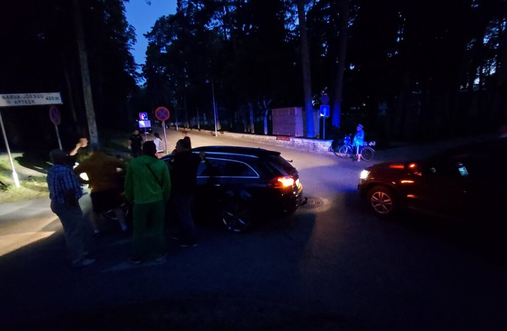Avarii Narva-Jõesuus.