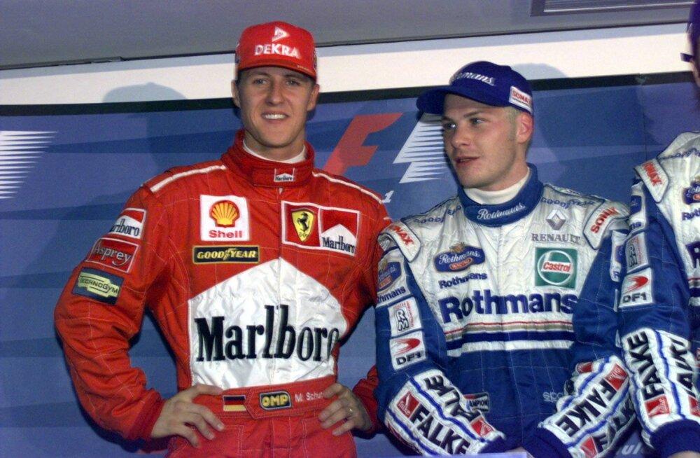 Villeneuve kritiseeris Rootsi ajalehes teravalt Michael Schumacherit