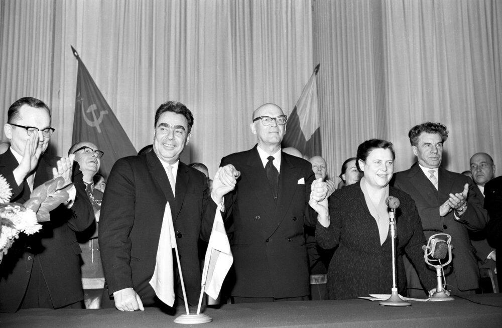 Brežnev ja Kekkonen