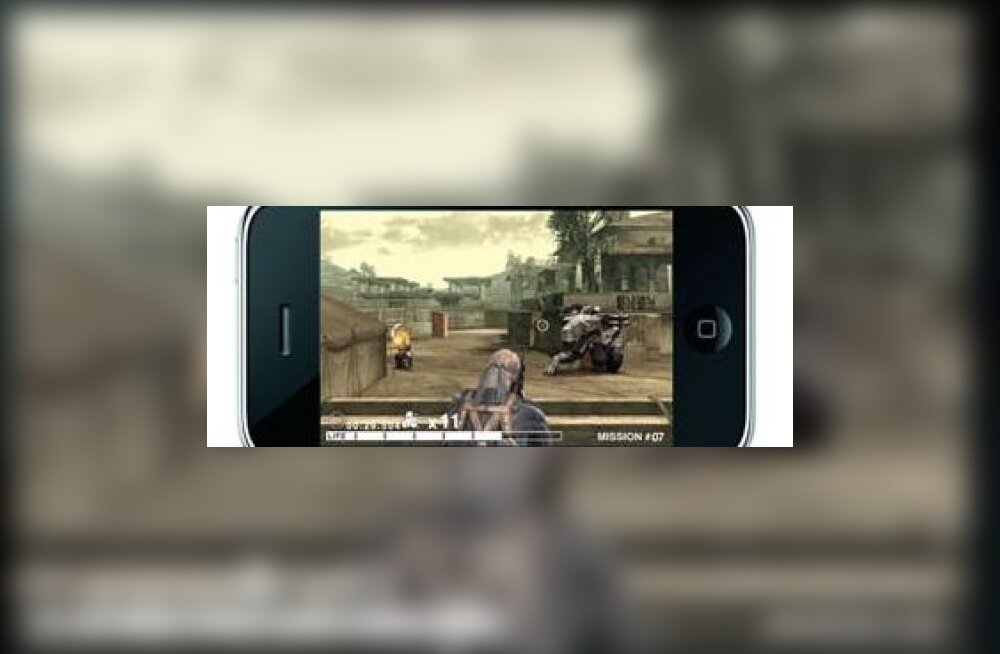 2a7890303f4 Metal Gear Solid varsti iPhone'is - Forte