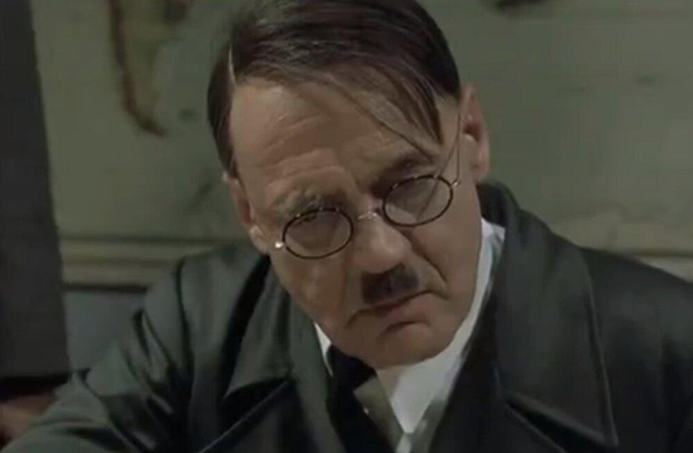 VIDEO | Lõbus klipp: kuidas reageeris Hitler Ott Tänaku katkestamisele?