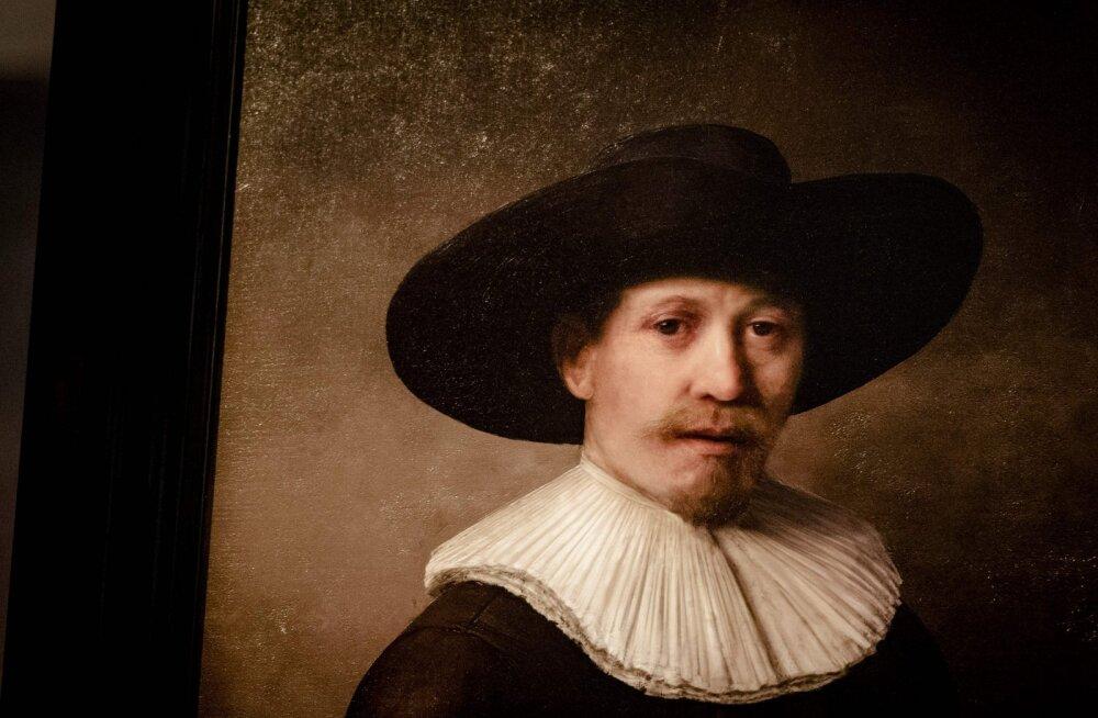 """Nagu päris! Selle portree """"maalis"""" kõiki Rembrandti teoseid analüüsinud algoritm"""