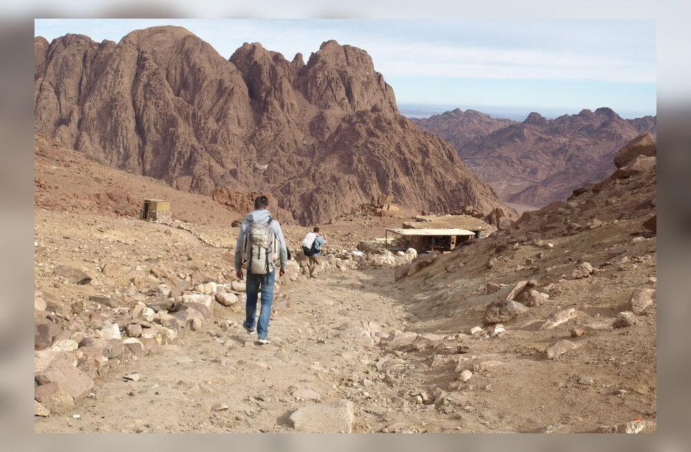 Reisikiri: kargel koidikul Moosese mäele