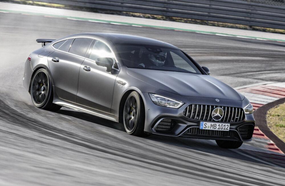 Kuidas kõlab summutiga kuuliprits, ehk nelja uksega Mercedes-AMG GT 63 4MATIC+