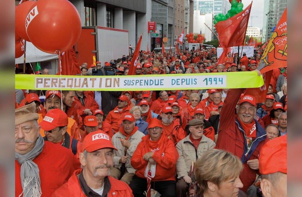 Kogu Euroopas protestitakse kärpeplaanide vastu