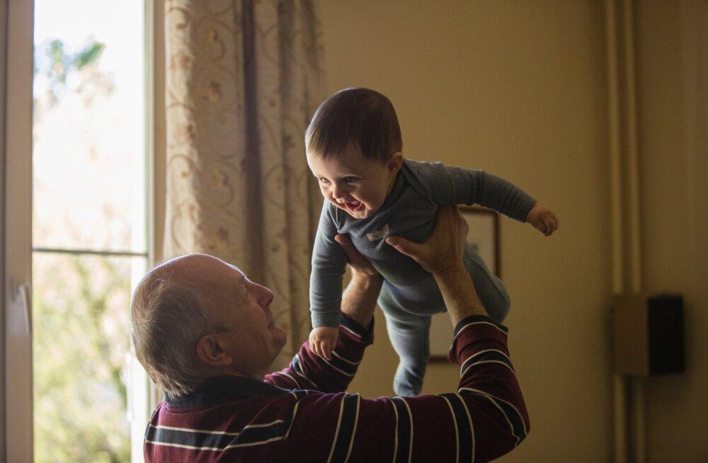 Kuidas vanavanemad, nõnda ka lapselapsed