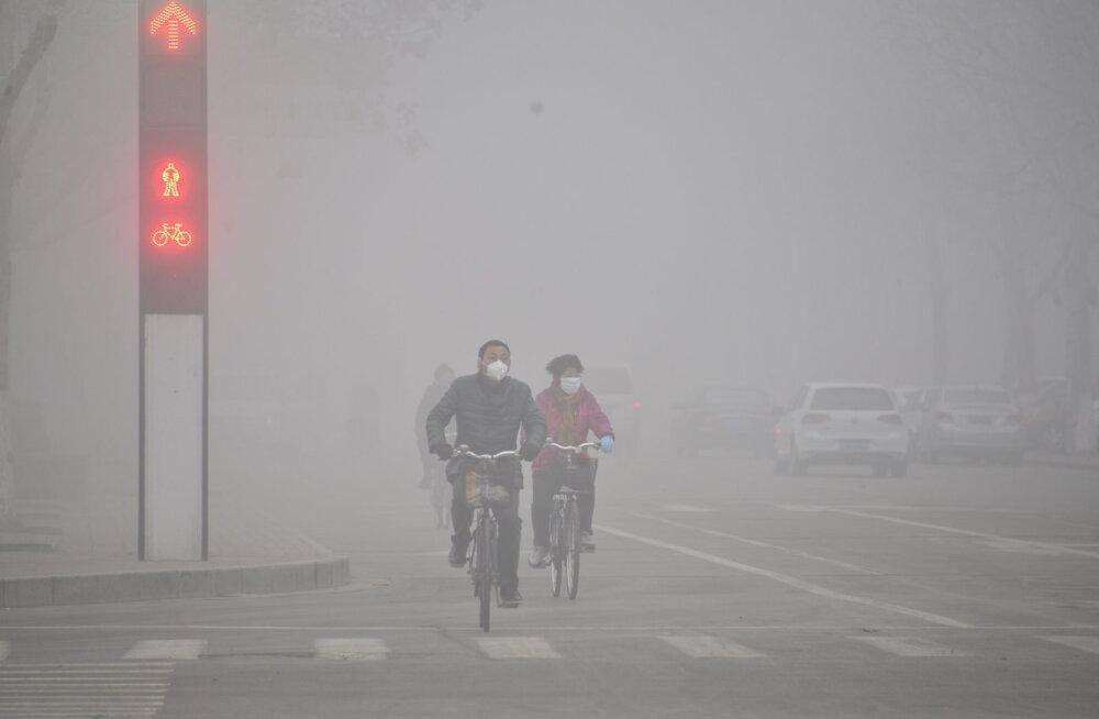 5,5 miljonit inimest sureb aastas õhusaaste tõttu, enamik neist Hiinas ja Indias