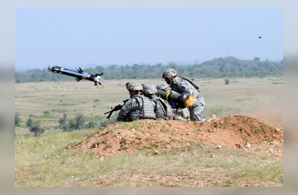 VIDEO: Eesti alustab läbirääkimisi tankitõrjeraketisüsteemide Javelin hankimiseks USA-st
